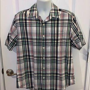 Men's Old Navy Plaid shirt size Large